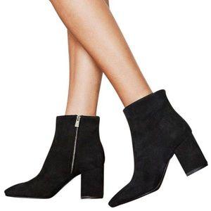 NWT Anine Bing Jane Boot Suede Black 38